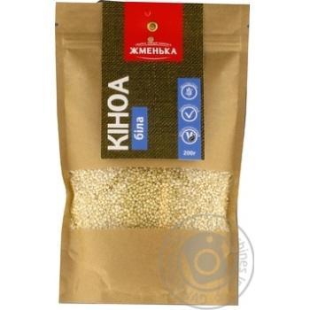 Zhmenka quinoa white groat 200g