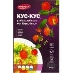Кус-кус Жменька с томатами и базиликом 200г