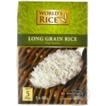 Groats rice vietnamese World's rice long grain white 400g cardboard box