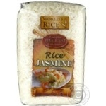 Groats rice jasmine World's rice long grain white 500g