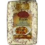 World's Rice parboiled & red rice 500g