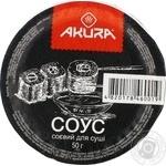 Соус соевый Akura для суши 50г - купить, цены на Novus - фото 2
