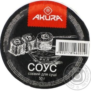 Соус Соєвий для суші Akura 50г