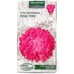 Семена Семена Украины астра пионовидна роза турм 0.25г