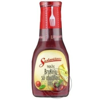 Sauce with lingonberry 285g