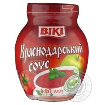 Sauce Viki Krasnodar vegetable 450g glass jar