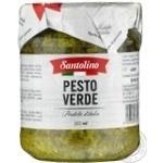 Соус Santolino Pesto Verde 212мл - купить, цены на Novus - фото 1