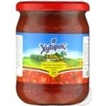 Tomato paste Khutorok 500g glass jar