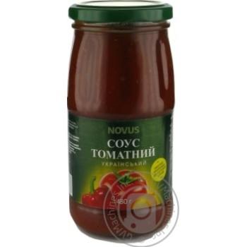 Соус томатний Український Novus 480г