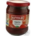 Tomato paste Marinado tomato 500g glass jar