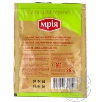Mria Cіtric Acid - buy, prices for MegaMarket - image 2