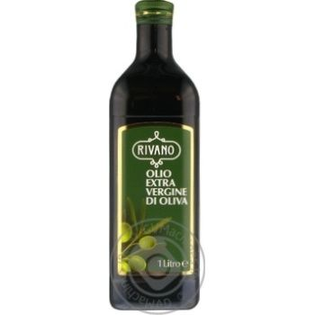 Масло Ривано оливковое экстра вирджин первого холодного отжима 1л