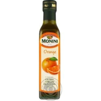 Олія оливкова Monini першого холодного віджиму з апельсином 250мл