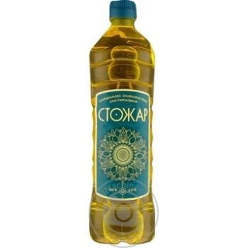 Oil Stozhar sunflower-olive refined 850ml
