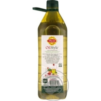 Масло Олком подсолнечное рафинированное 1.5л - купить, цены на Novus - фото 2