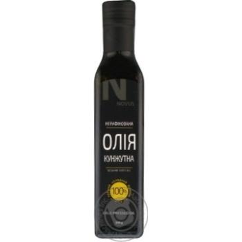 Масло из семян кунжута Novus нерафинированное 230г - купить, цены на Novus - фото 3
