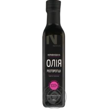 Масло из семян расторопши Novus нерафинированное 230г - купить, цены на Novus - фото 3