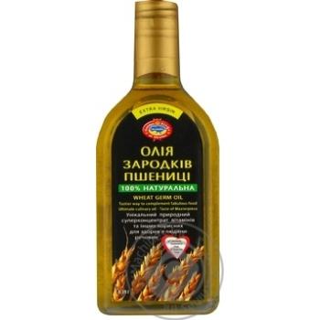 Oil Golden Kings of Ukraine wheat germ unrefined extra virgin 350ml
