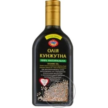 Golden kings of Ukraine sesame unrefined oil 350ml