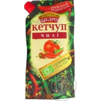 Кетчуп Щедро Чили 300г - купить, цены на Novus - фото 2
