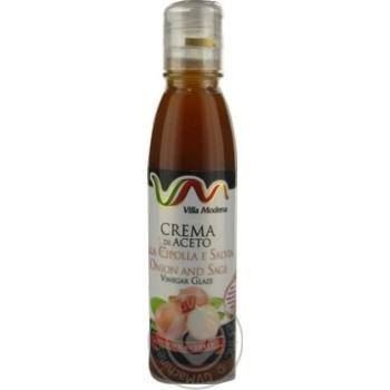 Соус з винного оцту з цибулею та шавлією Villa Modena пет 150мл