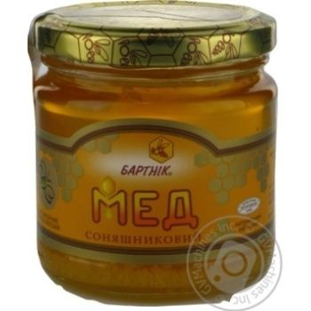 Honey Bartnik flowery 250g glass jar