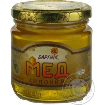 Honey Bartnik linden 250g glass jar