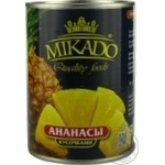 Pineaaple chunks Mikado in syrup 565g