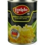Pineapple chunks Lorado in light syrup 565g Thailand - buy, prices for Novus - image 1