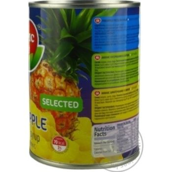 Tropic Life Pineapple Сhops In Syrup - buy, prices for Novus - image 7