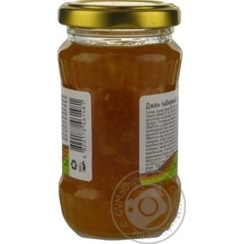 Jam Akura gingery lemon canned 200g glass jar - buy, prices for Novus - image 7