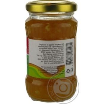 Jam Akura gingery lemon canned 200g glass jar - buy, prices for Novus - image 5
