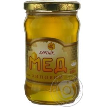 Мед липовый 400г Бартник