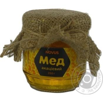 Мед натуральний акацієвий Novus 250г