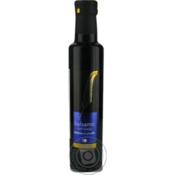 Оцет бальзамічний зі смаком меду пастеризований VRIONIS скло 250мл