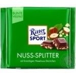 Ritter sport hazel-nut milk chocolate 100g