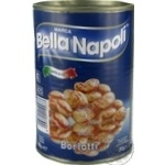 Фасоль Bella Napoli Борлотти 400г