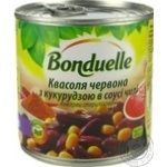 Bonduelle With Corn Red In Sauce Kidney Bean