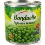 Горошок Бондюель зелений консервований 425мл