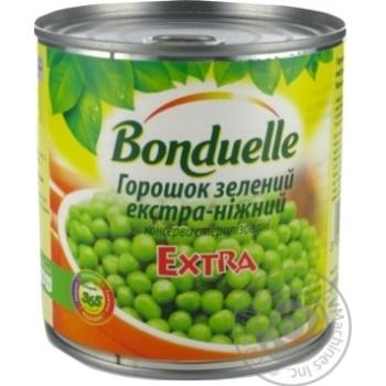 Горошек зеленый Bonduelle экстра-нежный 425мл