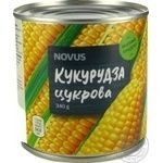 Vegetables corn Novus Private import canned 340g can - buy, prices for Novus - image 2
