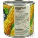 Кукурудза цукрова консервована з цілих зерен стерилізована вакуумована Novus з/б 340г - купити, ціни на Novus - фото 3