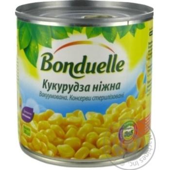 Кукуруза Бондюэль нежная вакуумированная 425мл