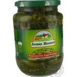 Dolyna Bazhan Crispy Pickled Gherkins