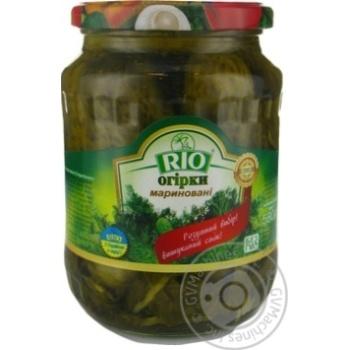 Огірки корнішони Ріо 550 г