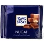 Шоколад молочный Ritter Sport с начинкой пралине 100г