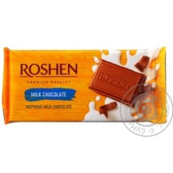 Шоколад Roshen молочный 90г