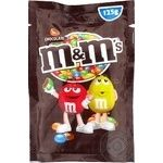 M&M'S With Milk Chocolate Drageein in crispy colored glaze 125гg