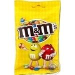 M&m's with peanuts in milk chocolate dragee 90g