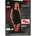 Tights Conte Prestige grafit polyamide for women 40den 4size